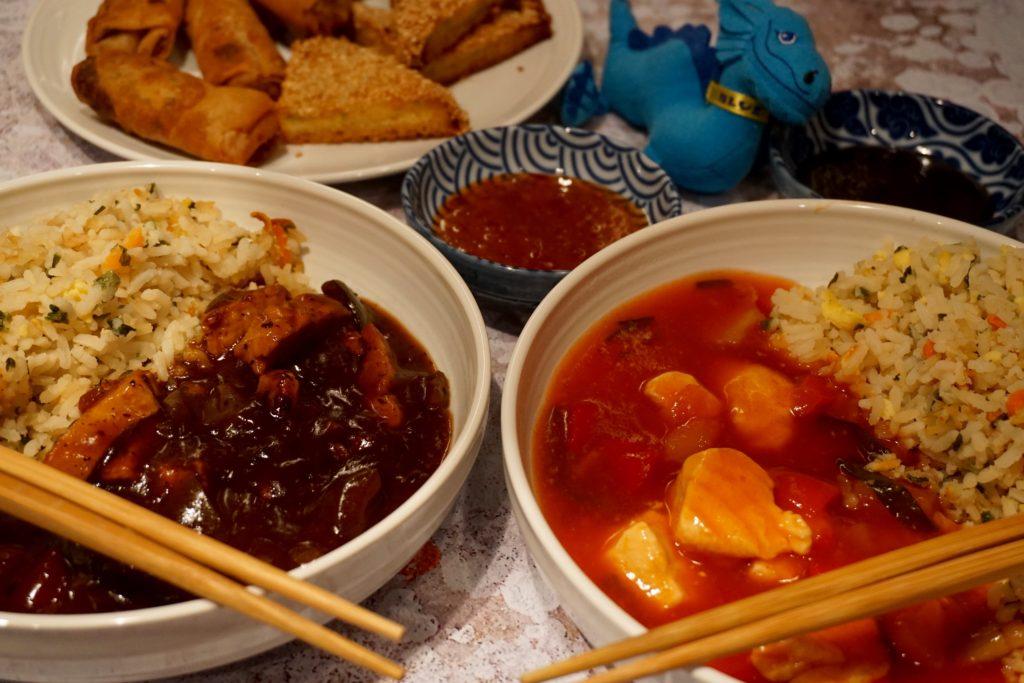 Blue Dragon Frozen Ready Meals Feast
