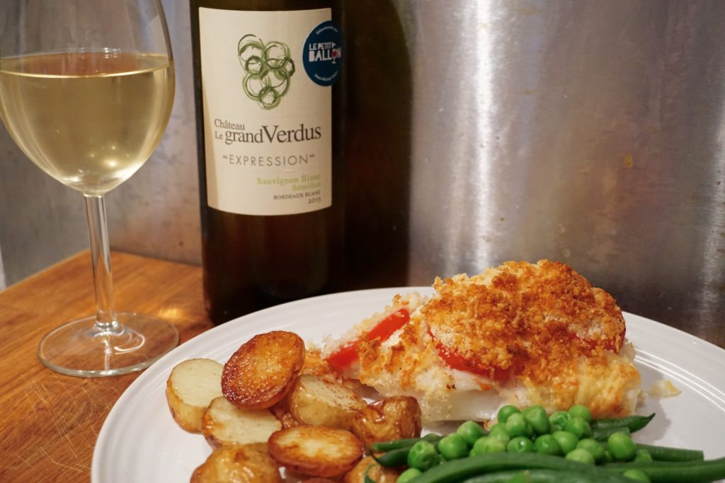 Cod with Cheese and Tomato Crust Recipe