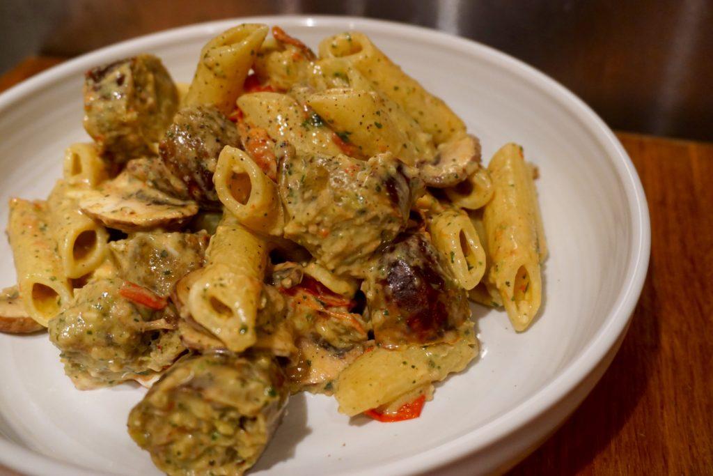 MOR Taste Sausages - Sausage and Pesto Pasta