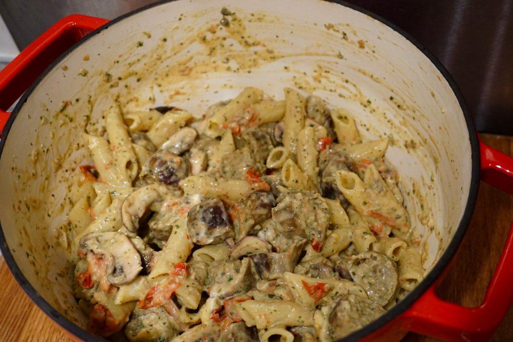 MOR Taste Sausages - Sausage and Pesto Pasta Recipe