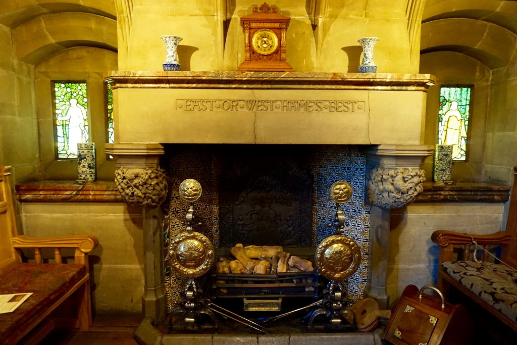 Northumberland-Cragside-Fireplace