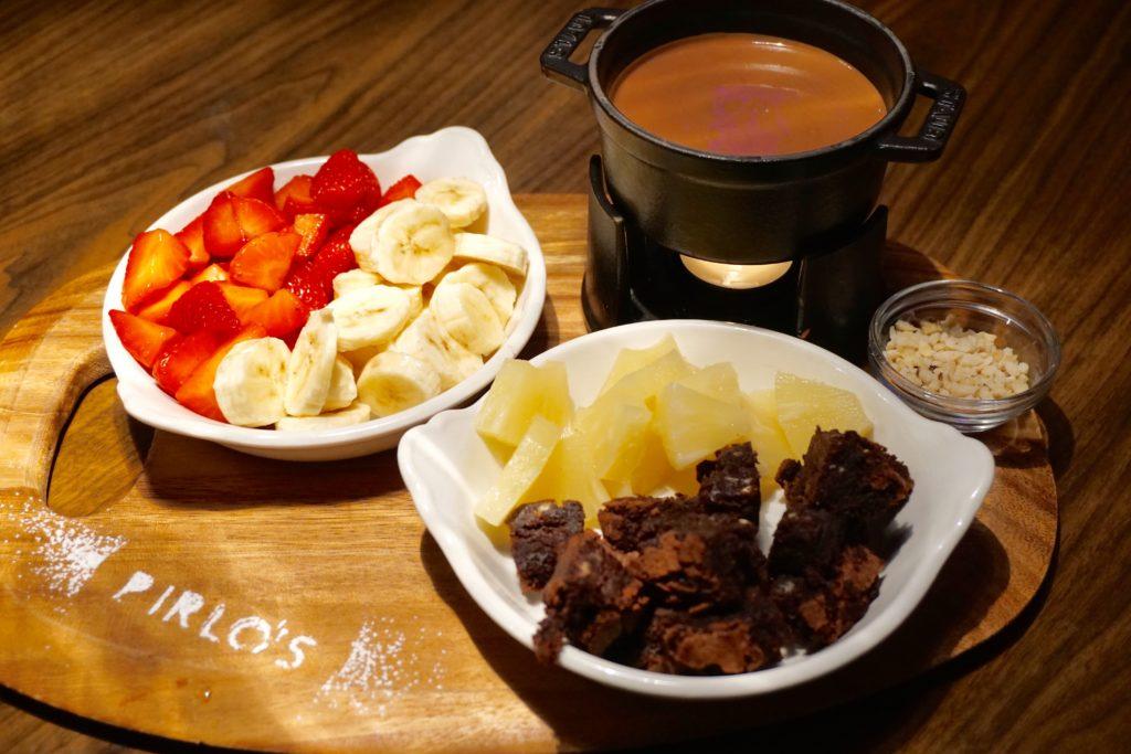 Pirlos Dessert Parlour - Milk Chocolate Fondue