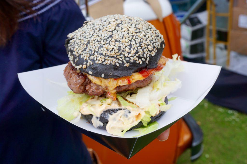 Foodies Festival Birmingham - Big Dub Burger