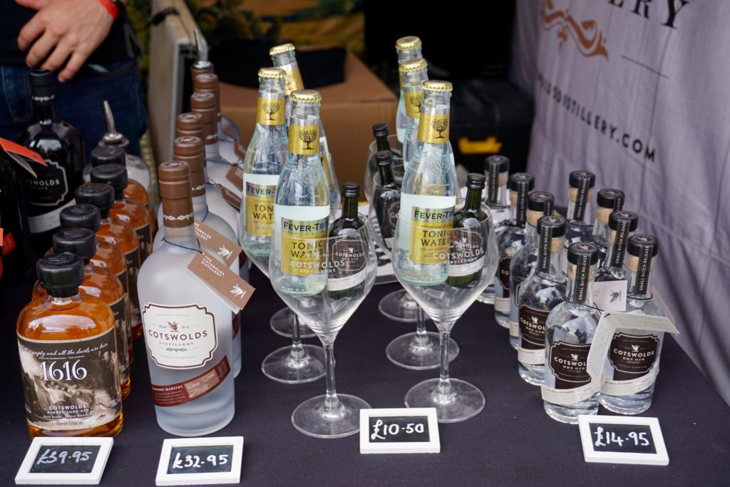 Foodies Festival Birmingham - Cotswolds Gin