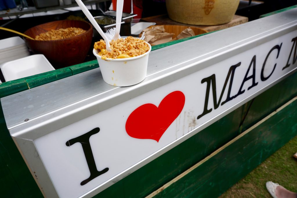 Foodies Festival Birmingham - Mac n Cheese