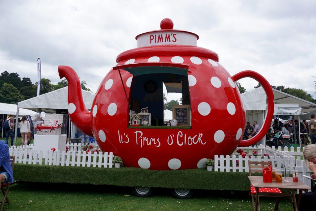 Foodies Festival Birmingham - Pimms