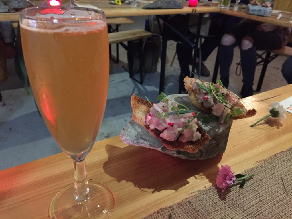 Shock & Awe with Wild Beer Co - Sour Dough Mackerel