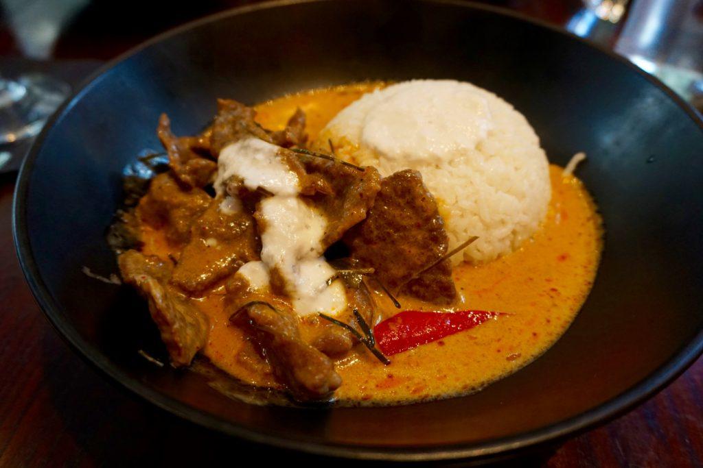 Siamais Birmingham - Beef Panang Curry
