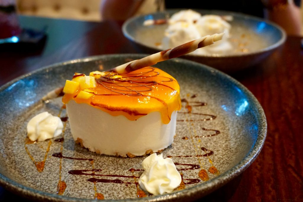 Siamais Birmingham - Mango and Passionfruit Cheesecake