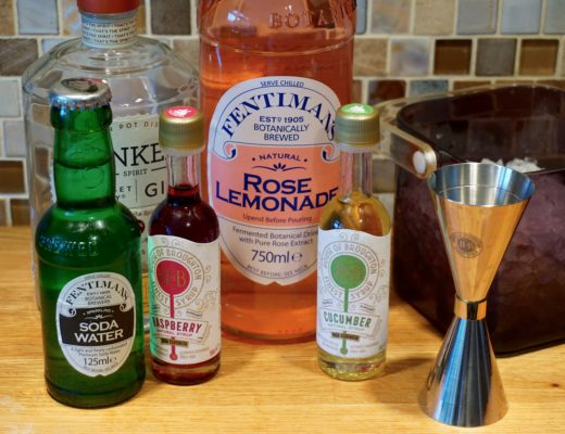 Summer Cocktails with Fentimans and HOB Syrups