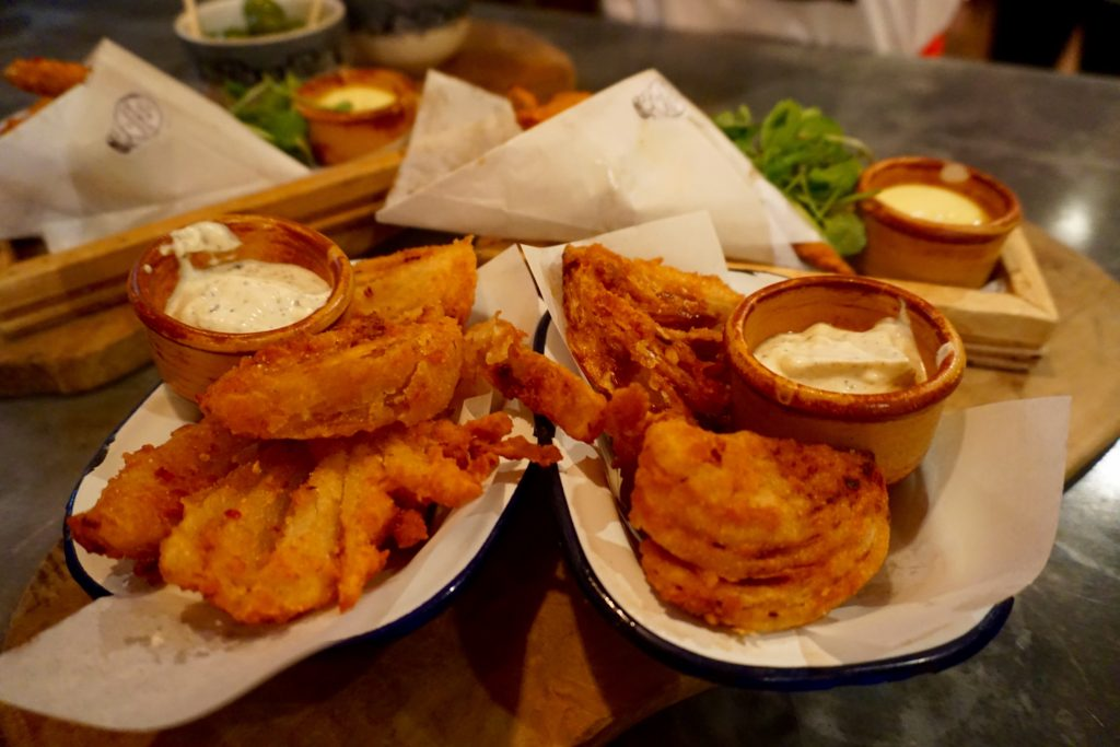 The Botanist Birmingham - Blooming Onions