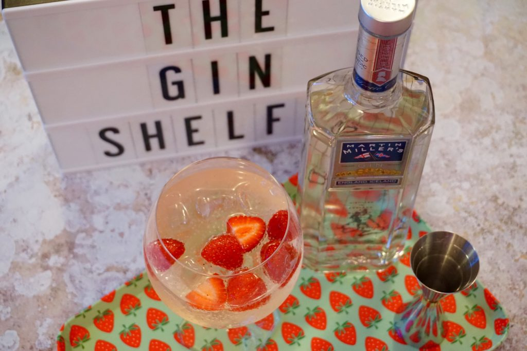 Foodie Finds Martin Millers Gin