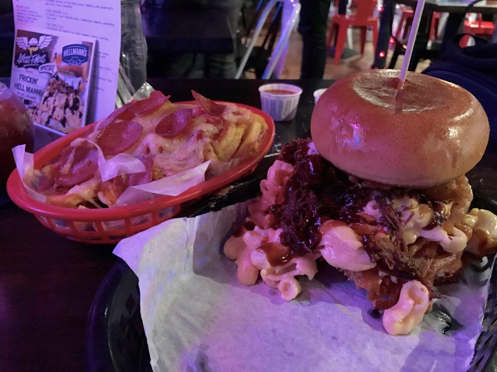 Frickin Hellman Burger