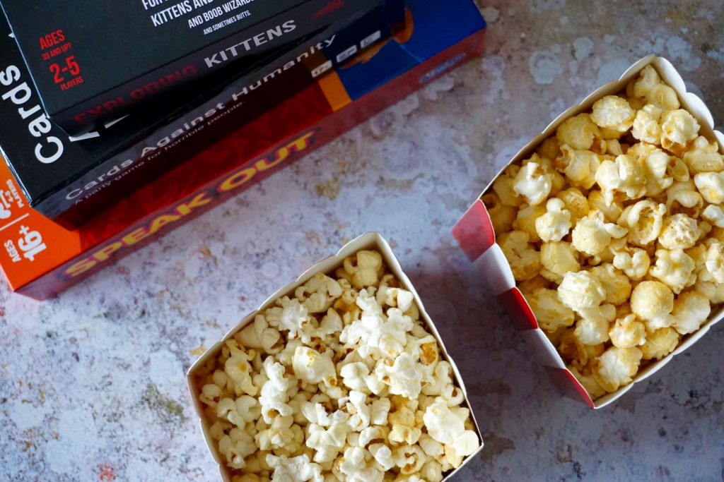 Friday Night Games with Butterkist Popcorn