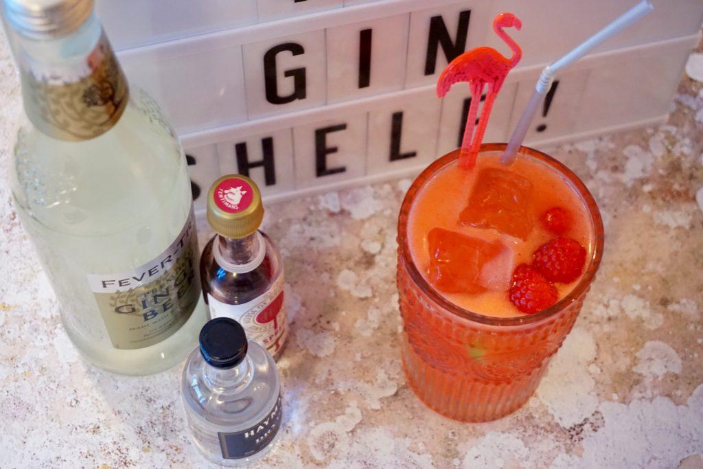 Hayman's Gin - Ruby Fizz