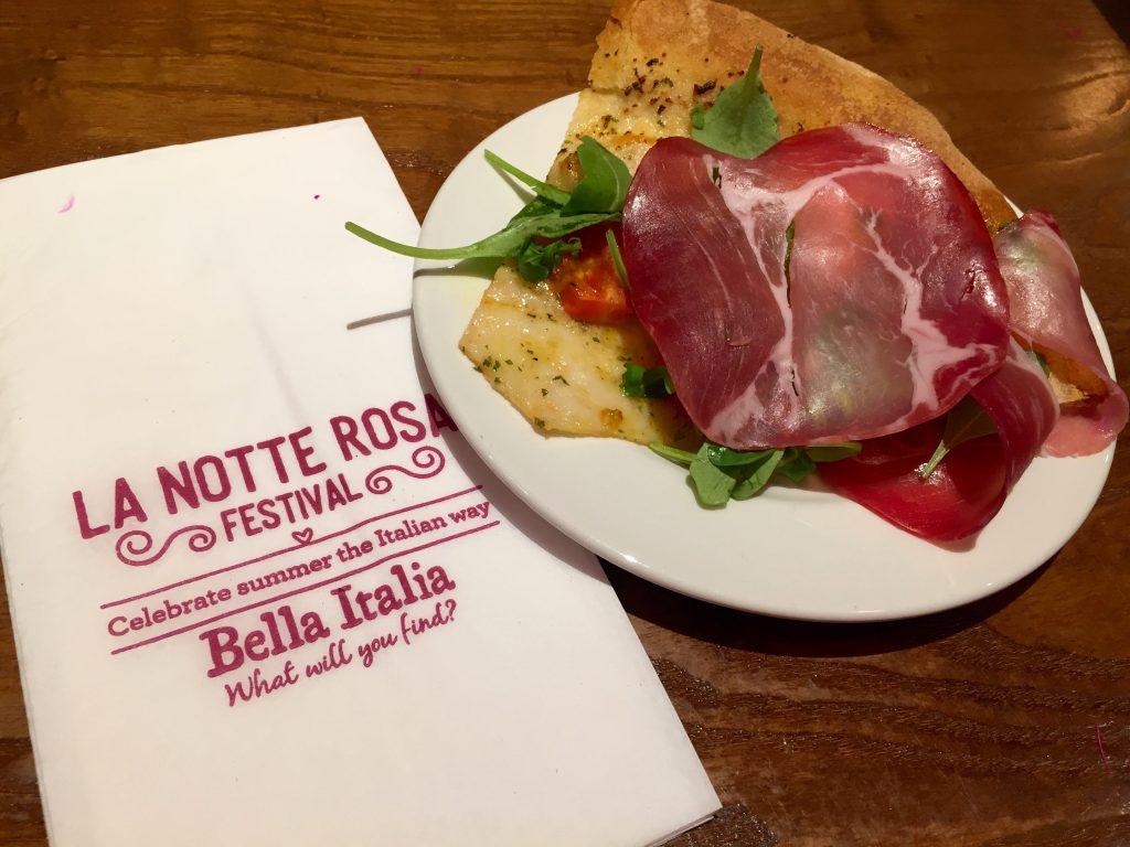 La Notte Rosa Bella Italia - Pizza