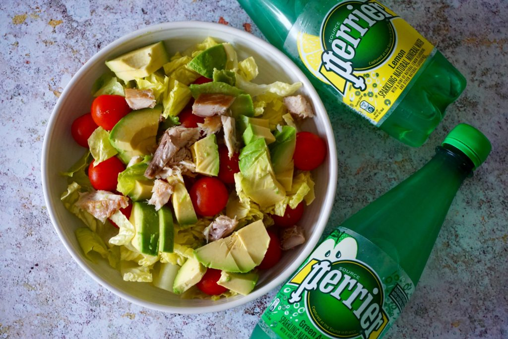 Light Lunches with Perrier Flavoured Sparkling Water