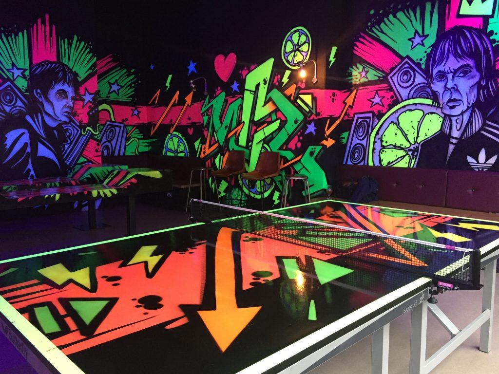 Roxy Ballroom Manchester - Ping Pong