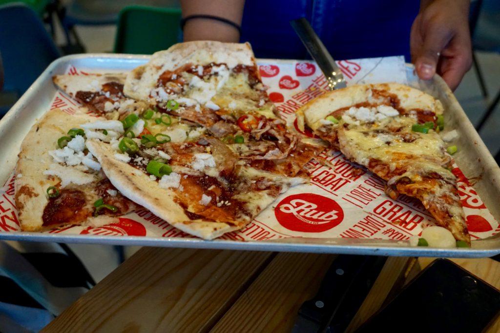 Rub Smokehouse - Korean Chicken Pizza