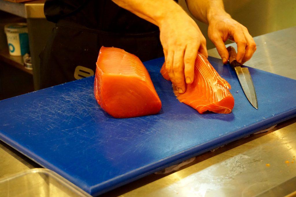 YO Sushi Sashimi Class