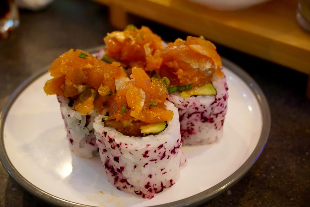 YO Sushi Worcester Blossom Roll