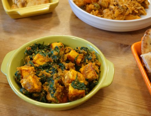 An Autumn Feast - Saag Paneer Recipe