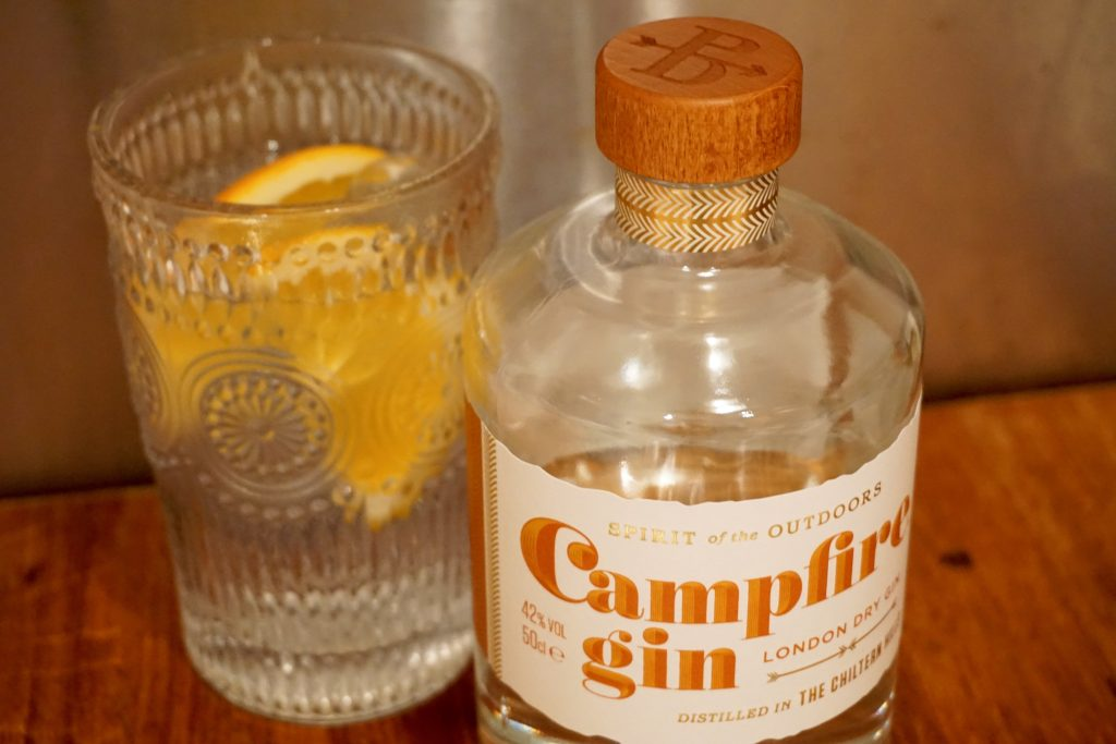 Campfire Gin and Orange