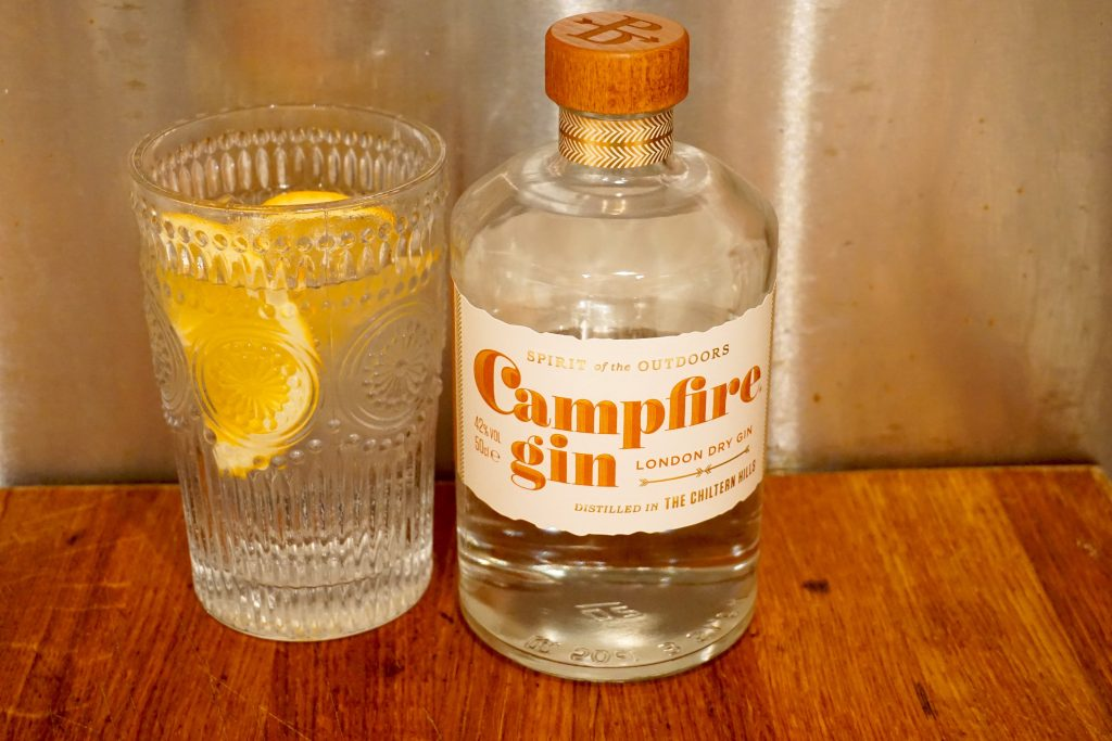 Campfire Gin and Tonic