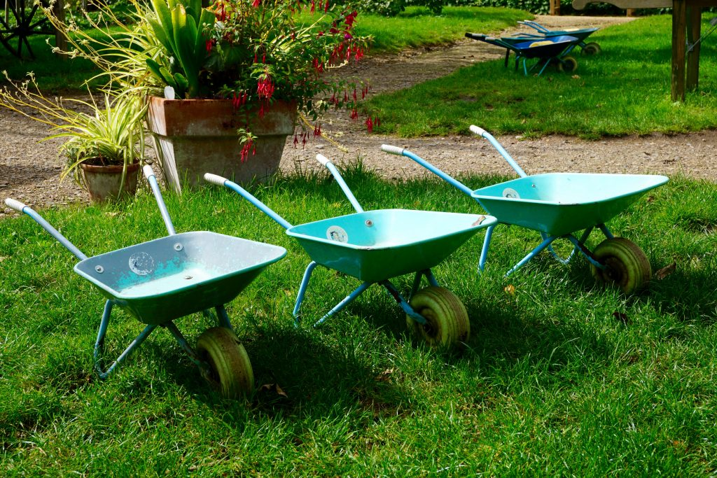 Day Out at Hughenden Manor - Wheel Barrows