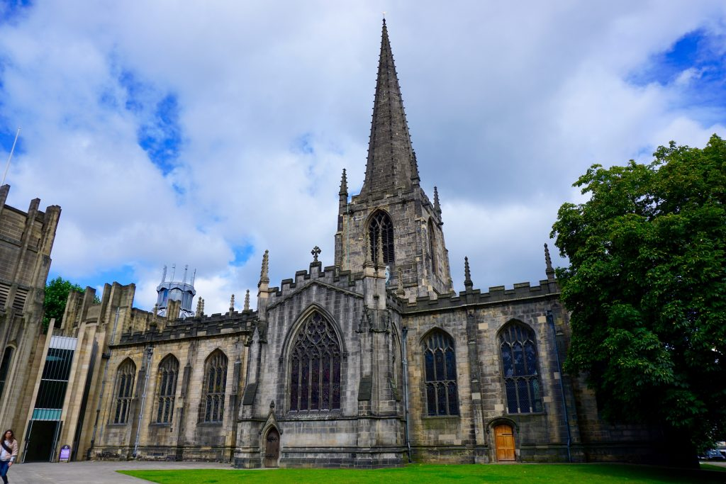 Exploring Sheffield - Cathedral