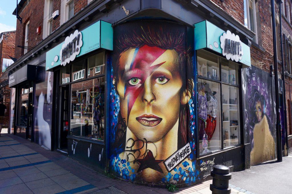 Exploring Sheffield - David Bowie Division St