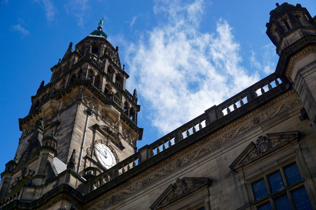 Exploring Sheffield - Townhall