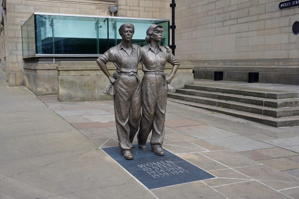 Exploring Sheffield - Women of Steel