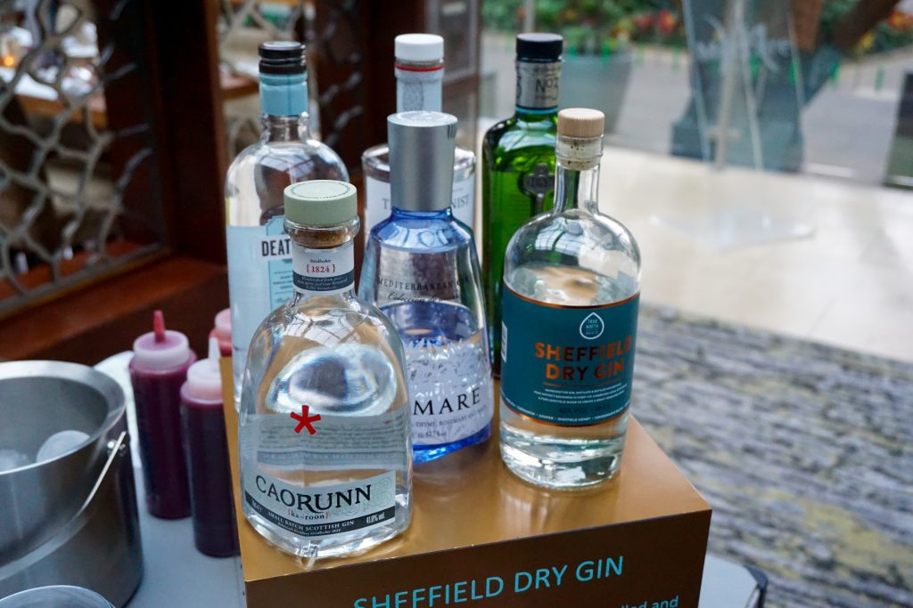 Mercure Sheffield Gin Bar Welcome