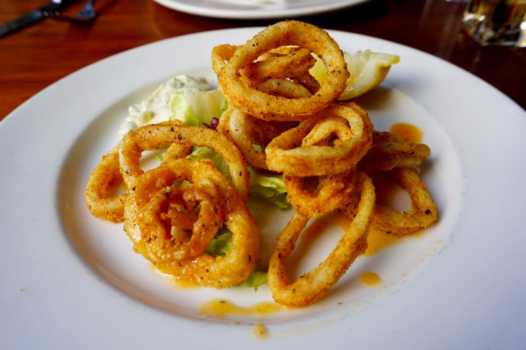 Pasta di Piazza Birmingham Review - Calamari