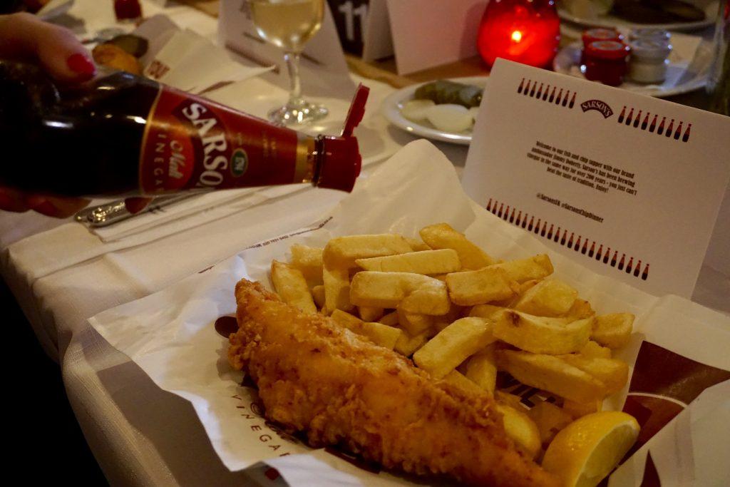 Sarson's Chip Dinner