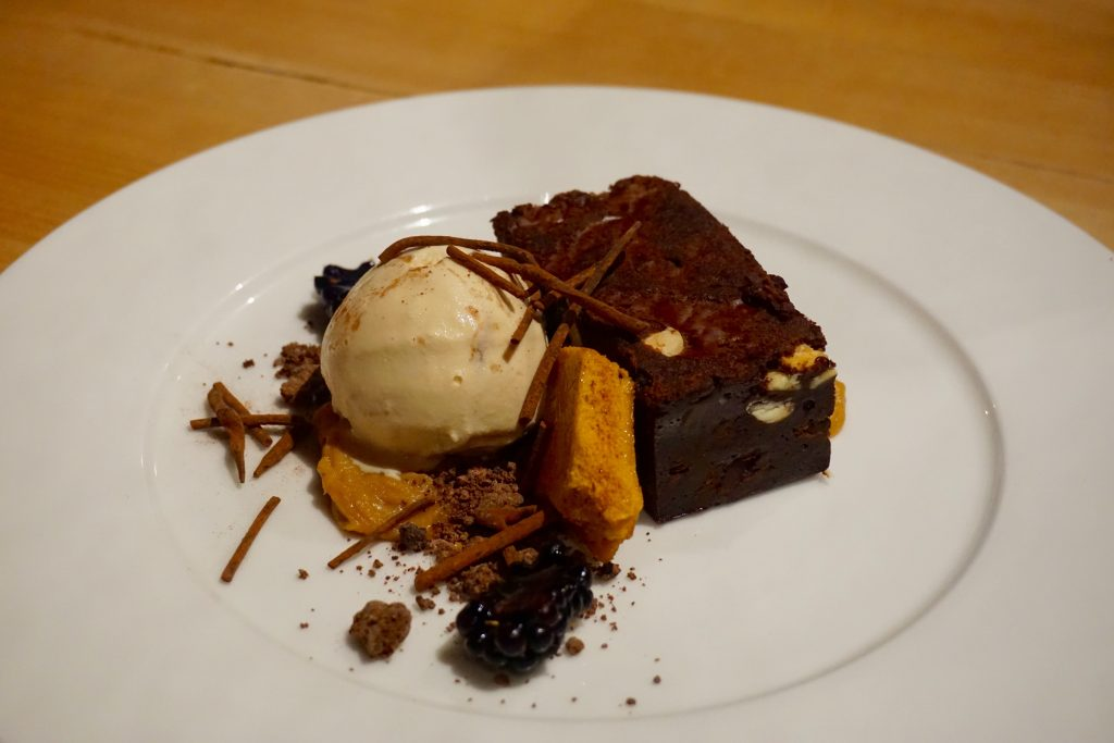 Shell Bay Restaurant - Chocolate Brownie