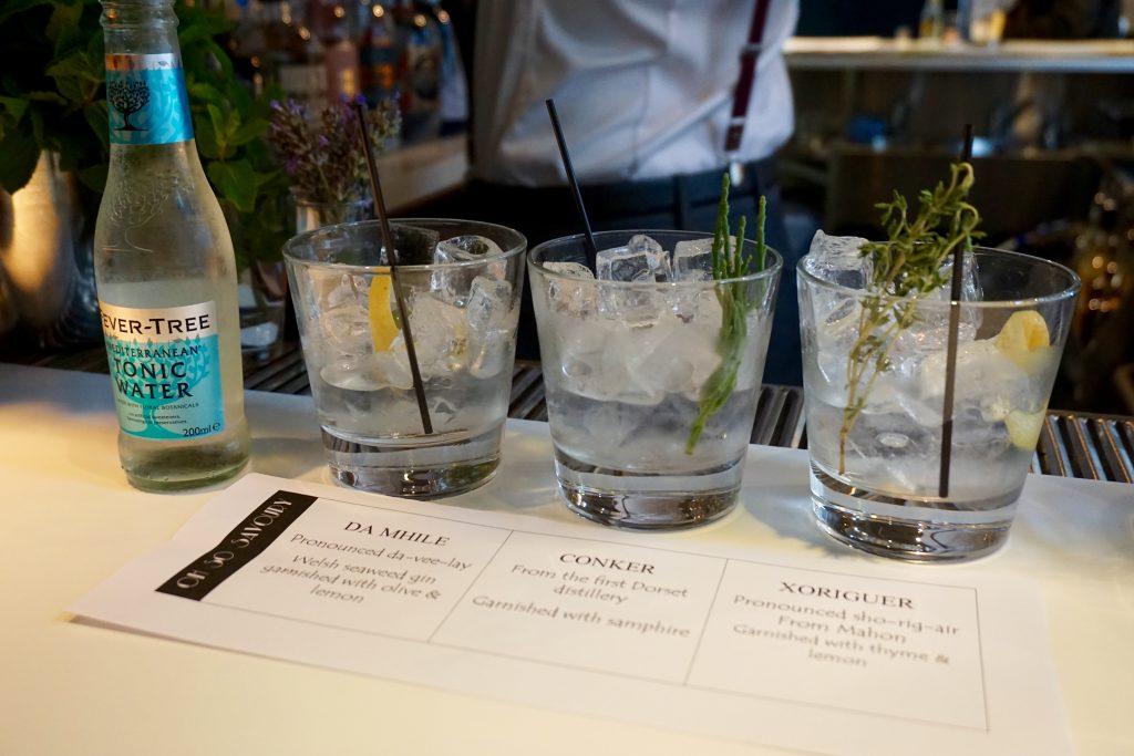 Trippets Lounge Bar Sheffield Gin Tasting Savoury