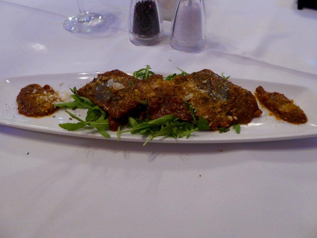 Al Bacio - fish ravioli