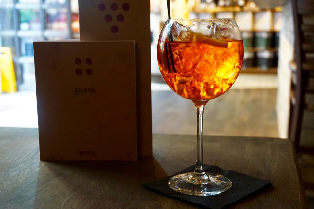 Veeno Selezione Wine Tasting Aperol Spritz