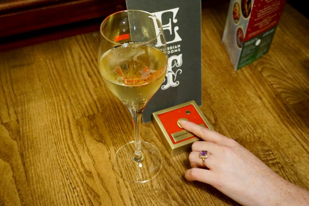 5 Happy Things - Press For Champagne Button