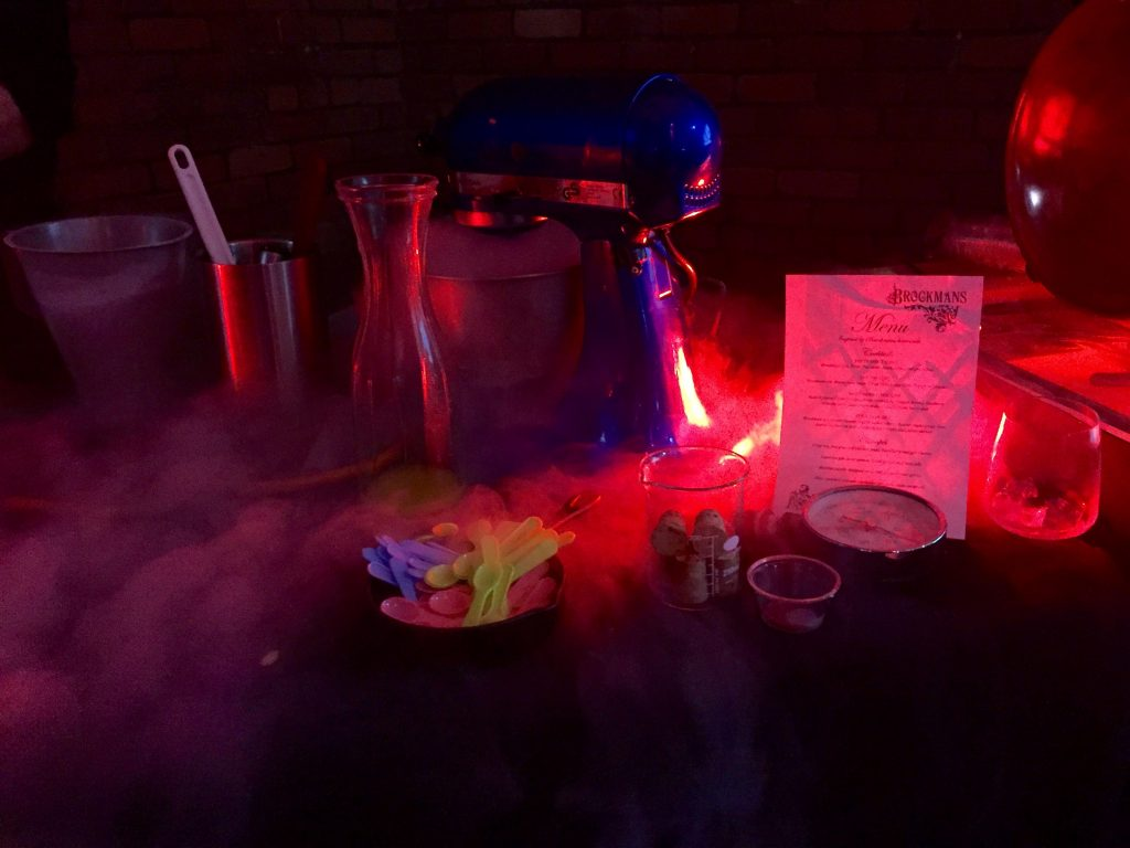 Brockmans Gin Liquid Nitrogen Icecream
