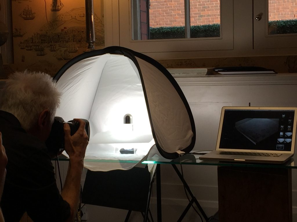 Using a Reflective Tent for Product Photography