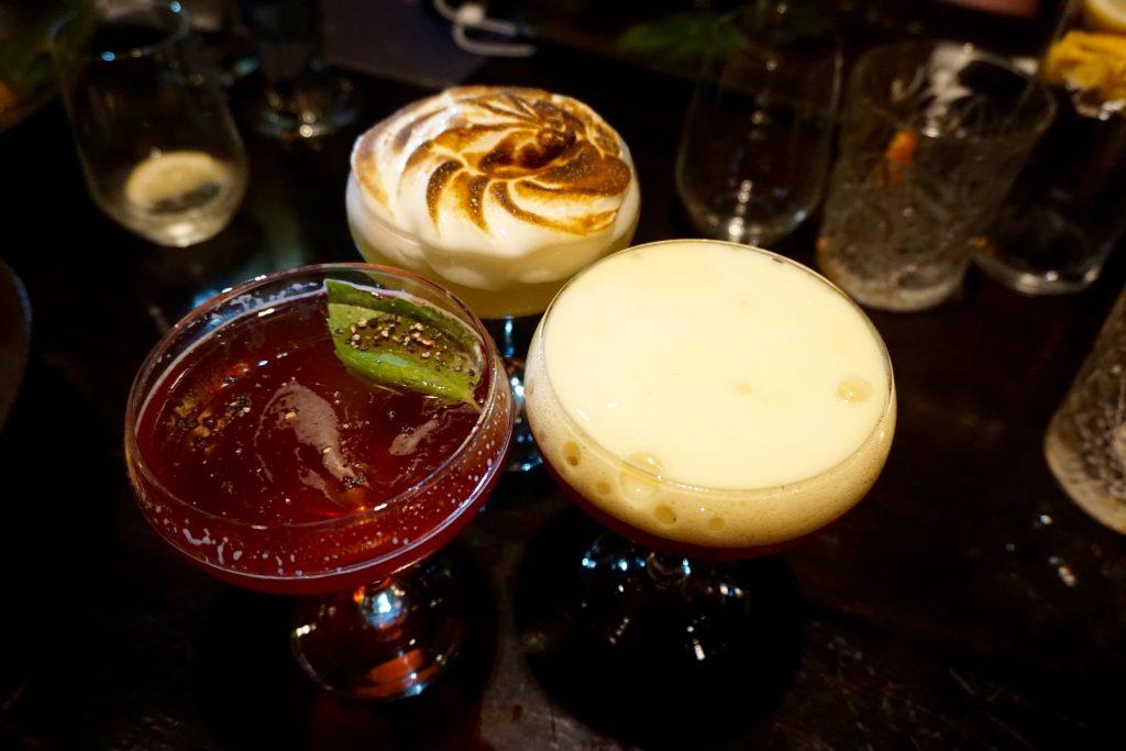 Aluna - French Martini - Basil Martini - Marshmallow Daiquiri - Cocktails
