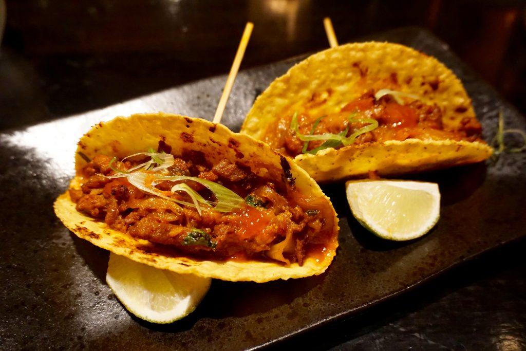 Beef and Kimchi Tacos - Aluna