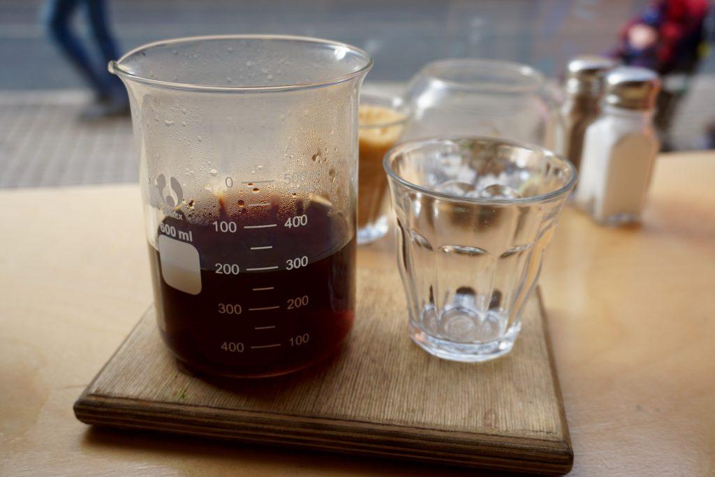 Aeropress Coffee - Brunch at Wayland's Yard