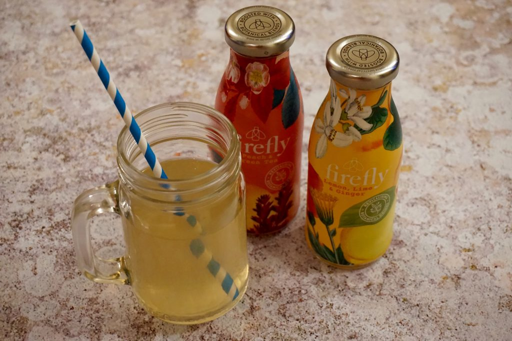 Dry January - Firefly Drinks and Mason Jar