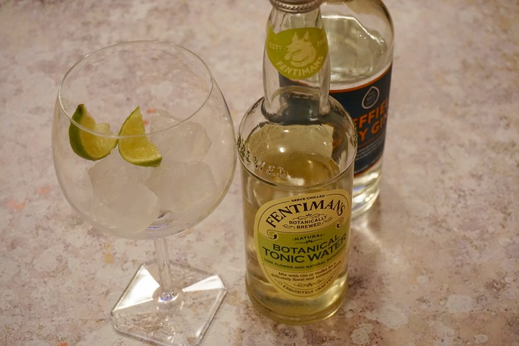 Ginuary with Fentimans - Fentimans Botanical Tonic and Sheffield Dry Gin