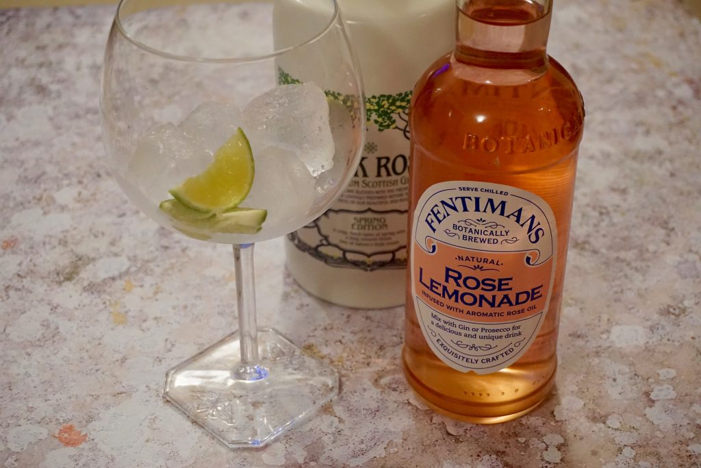 Ginuary with Fentimans - Rose Lemonade and Rock Rose Gin