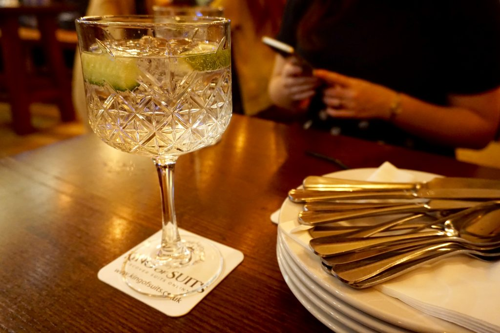 Hen and Chickens Birmingham - Giant Hendricks and Tonic Gin